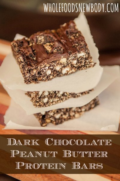 Peanut Butter Dark Chocolate + Protein Bar