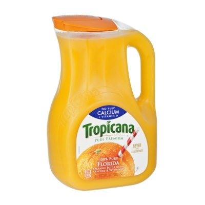 Juice, 100% Pure Orange, No Pulp