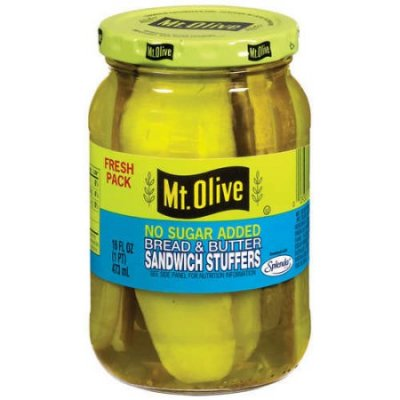 Pickles, Kosher Dill Stackers, Reduced Sodium