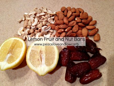 Pumpkin Pie Fruit & Nut Bar