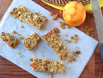 Almond Butter Cup Snack Bar