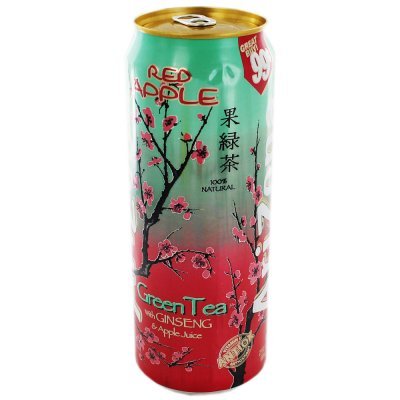 Green Tea, with Ginseng & Red Apple
