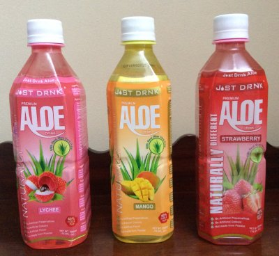 Pomegranate, Aloe Drink