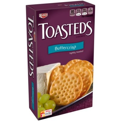 Toasteds, Party Pack, Cracker Assortment
