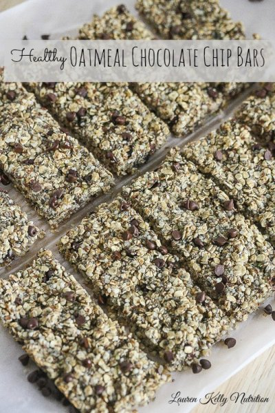 Chocolate Oatmeal Fiber Bar