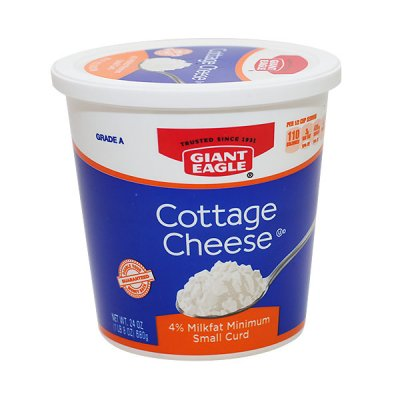 Cottage Cheese, Lowfat 2% Milkfat, Chive