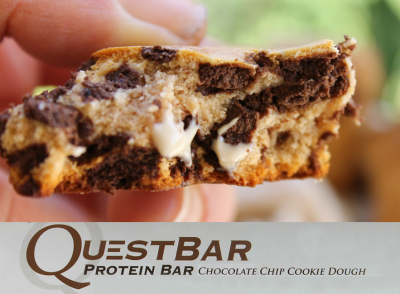 Protein Bar Chocolate Chip Cookie Dough