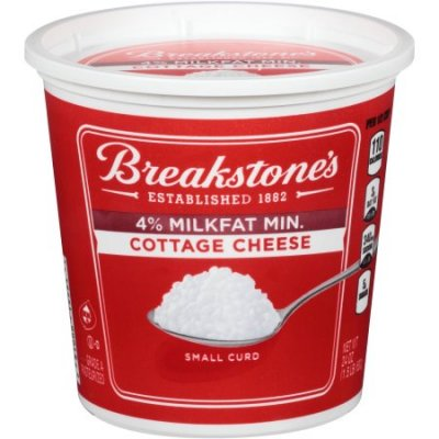 Cottage Cheese, 4% Milkfat