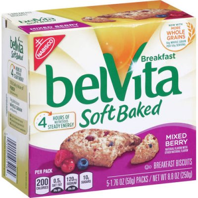Mixed Berry Breakfast Belvita Soft Baked