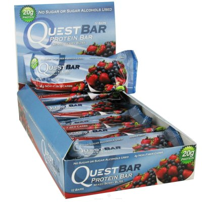 Protein Bar Mixed Berry Bliss