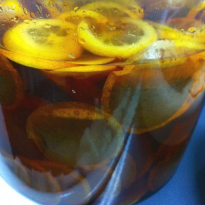 Iced Tea, Sun Brewed Style