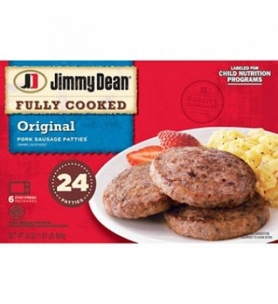 Sausage Patties,Country Medium 24 Ct