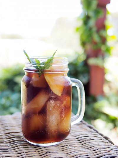 Sweet Tea, Real Brewed, Southern Style