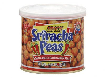Sriracha Peas, Spicy, Chili Garlic Green Peas