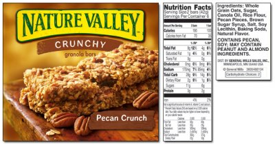 Granola Crunch Nutrition Bar