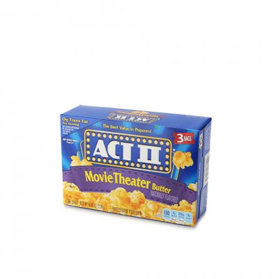 Microwave Popcorn, Movie Theater Butter