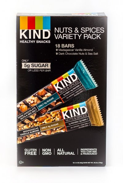 Snack Bars, Variety Pack