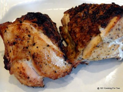 Grilled Chicken Breasts With Rib Meat