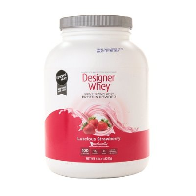 Natural Whey Protein, Strawberry