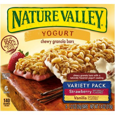 Nutrition Bars, Variety Pack