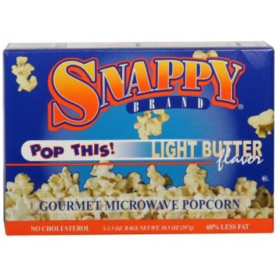 Popcorn,Microwave Light Butter Flavor 5 - 1.2 Oz Bags
