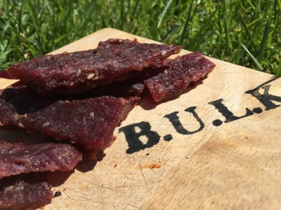Spicy Sweet Beef Jerky