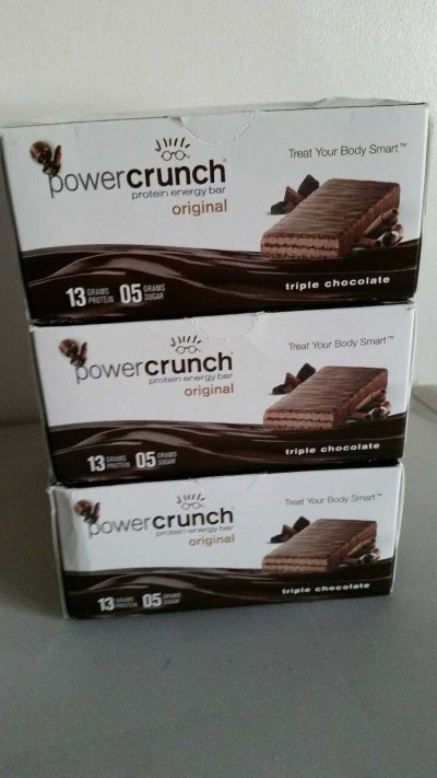 Triple Chocolate, Protein Energy Bar