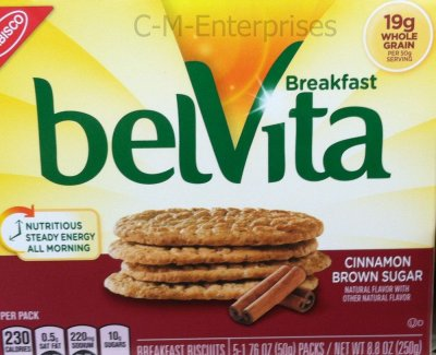 belVita Breakfast Biscuits, Cinnamon Brown Sugar
