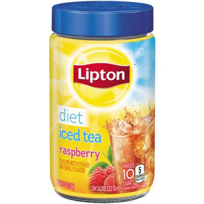 Iced Tea Mix, Raspberry, Diet