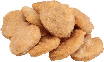 Chicken Breast Nuggets, Breaded with Rib Meat