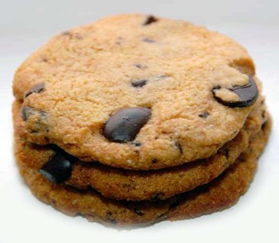 Cookies, Chocolate Chip with Almonds, Sugar Free