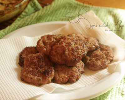 Maple Turkey Sausage Patties