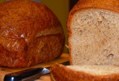 100% Whole Wheat High Protein Bread