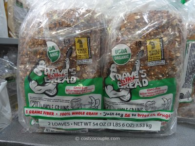 Bread, Whole Grain Organic