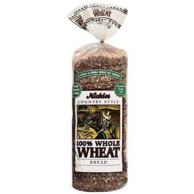 Country Style 100% Whole Wheat Bread