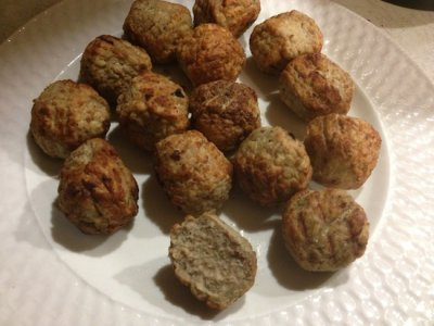 Turkey Meatballs, Homestyle