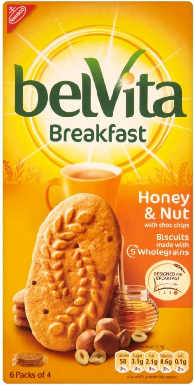 belVita Breakfast Biscuits, Chocolate