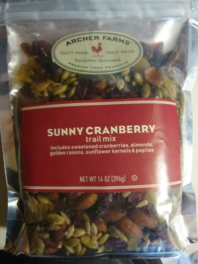Sunny Cranberry Trail Mix