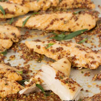 Chicken Breast Tenders, Whole Grain