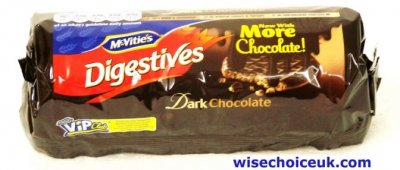 Digestives, Dark Chocolate, Cookie