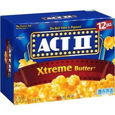 Microwave Popcorn, Xtreme Butter