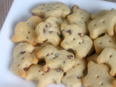 Chocolate Chip Animal Cookies