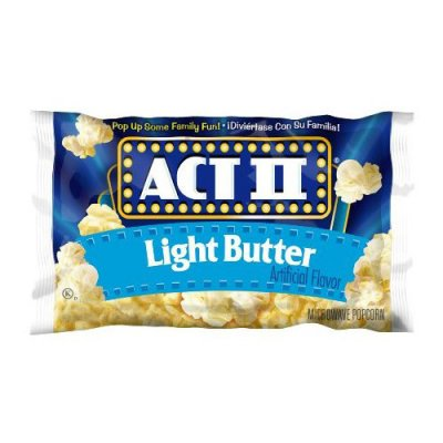 Light Butter Microwave Popcorn