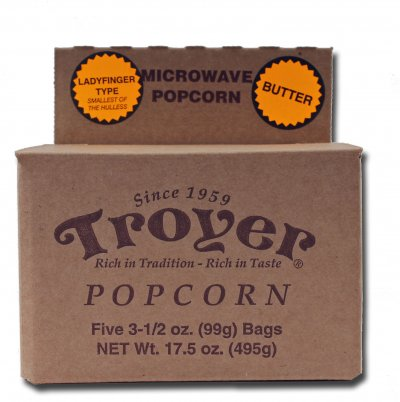 Popcorn, Butter Natural And Artificial Flavor