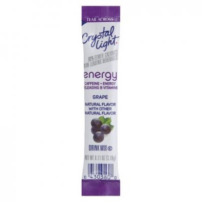 Drink Mix On The Go, Energy, Grape