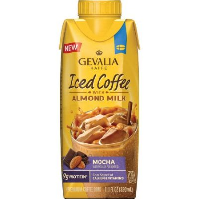 Iced Coffee With Almond Milk, Vanilla