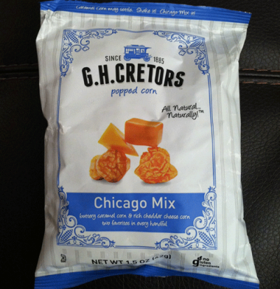 Popped Corn, Chicago Mix