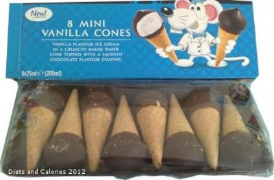 Mini Hold the Cone!  Vanilla