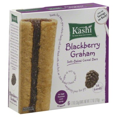 Blackberry Graham Soft Baked Cereal Bars