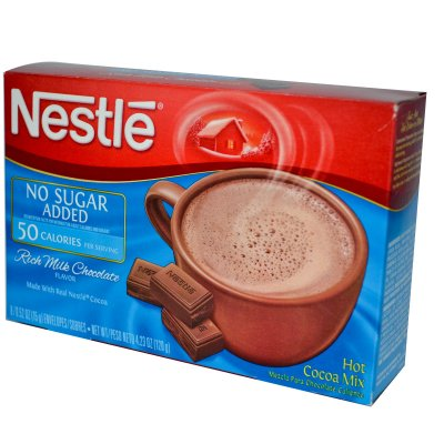 Hot Cocoa Mix, Milk Chocolate Flavor, No Sugar Added